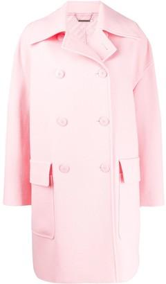 Givenchy Double-Breasted Oversized Coat
