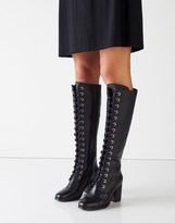 Ravel Lace Up Knee Boots