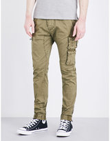 Replay Slim-fit Tapered Stretch-cotton Cargo Trousers
