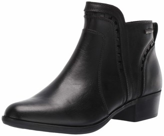 Cobb Hill Oliana Cutout Waterproof Boot Black