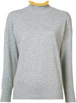 Renli Su - cashmere contrast tipped jumper - women - Cashmere - M
