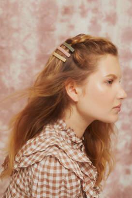 Urban Outfitters Neutral Slide Hair Pin Set