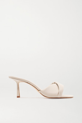 Studio Amelia 3.33 Leather Mules - Off-white