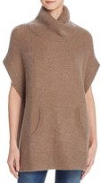Minnie Rose Cashmere Poncho-Style Tunic Top