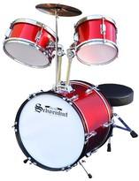 Schoenhut Toy Drum Set - Red/White