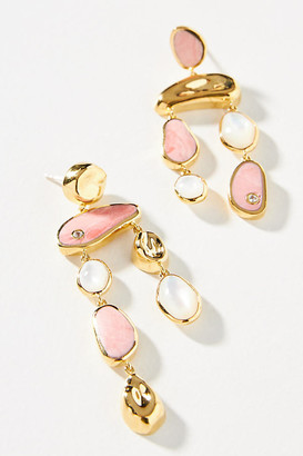 Anthropologie Pamela Love Alexander Drop Earrings By in Pink