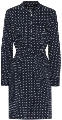 A.P.C. Martine cotton-blend minidress