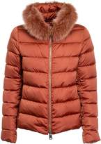 Herno Fox Fur Padded Jacket