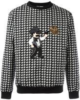 Dolce & Gabbana cowboy patch sweatshirt
