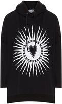 Club One Plus Size Printed hooded sweatshirt