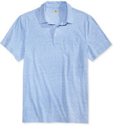 Club Room Men's Jersey Knit Heathered Polo, Only at Macy's
