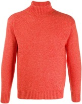 Laneus slim-fit roll-neck jumper