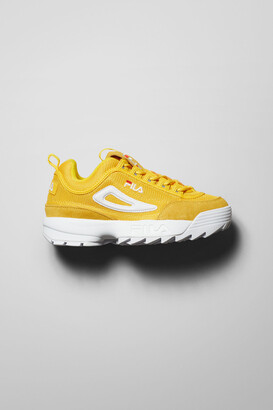 Weekday Distruptor Mesh Low Shoes - Yellow
