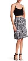 Joe Fresh Floral Ruffle Skirt