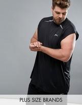Slazenger Plus Sleeveless Gym Singlet