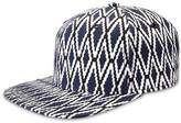 Gents Diamond Flat Brim Cap