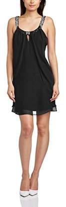 Logan Hailey Women's Chfn Flyawy Bdnk Cocktail Sleeveless Dress,(38 EU)