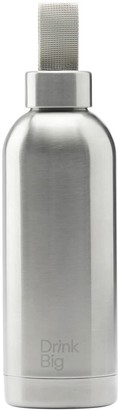 Drink Big Classic Edition Silver Water Bottle