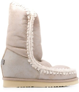 Mou Eskimo Wedge Tall boots