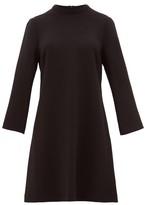 Goat Juno Wool-crepe Dress - Womens - Black