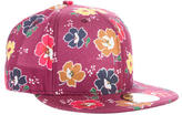 Kenzo Floral Print Fitted Cap w/ Tags