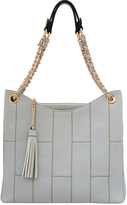 Mellow World Blue Gray Kylie Tote