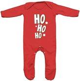 FLOSO Baby Girls/Boys Ho Ho Ho Romper Sleep Suit (6-12 Months)
