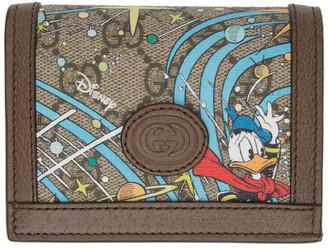 Gucci Multicolor Disney Edition GG Donald Duck Rocket Wallet