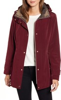 Gallery Hooded Raincoat with Detachable Liner