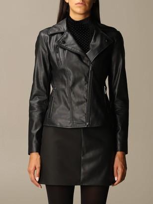 Armani Collezioni Armani Exchange Jacket Faux Leather Jacket