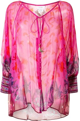 Camilla Tropic of Neon kaftan top