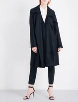Antonio Berardi Oversized virgin wool-blend coat