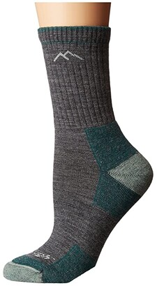 Darn Tough Vermont Merino Wool Micro Crew Socks Cushion (Slate) Women's Crew Cut Socks Shoes