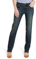 Ralph Lauren Petite Super-Stretch Straight Jean