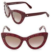 Kate Spade 50mm Luann Cats Eye Sunglasses
