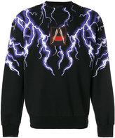Alexander Wang lightning collage sweatshirt