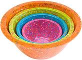 Zak Designs Confetti 4-pc. Bowl Set