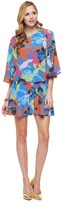 Juicy Couture Silk Matisse Floral Dress