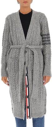 Thom Browne 4-Bar Detail Cardigan