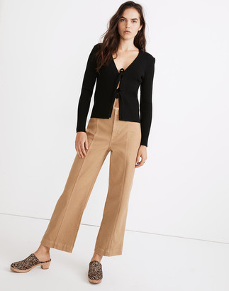 Madewell Slim Emmett Wide-Leg Pants: Seamed Edition