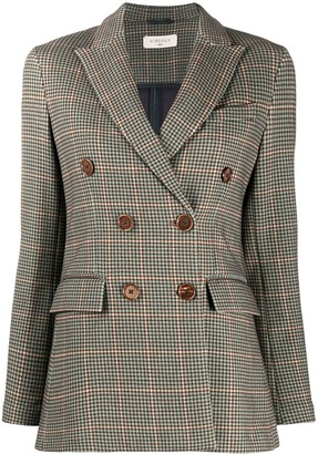 Circolo 1901 Fitted Double-Breasted Blazer