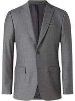 Jigsaw Italian Flannel Slim Fit Suit Jacket, Grey