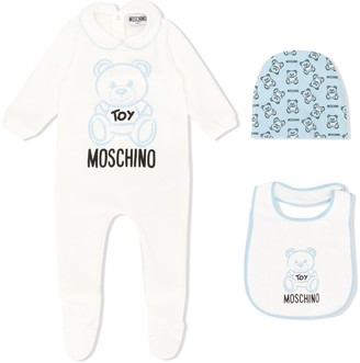 MOSCHINO BAMBINO Teddy Logo Pajamas Set