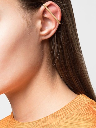 Repossi 14kt Yellow Gold Curved Bar Ear Cuff