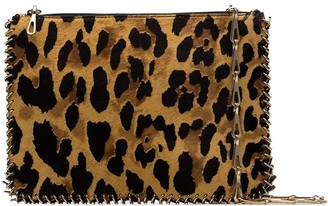 Paco Rabanne Leopard-Print Shoulder Bag
