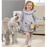 Mud Pie Elephant Dress - 5T by