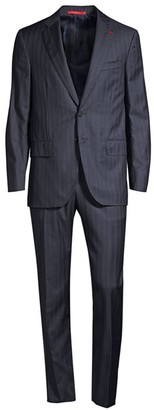 Isaia Classic-Fit Pinstripe Wool Suit