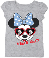 Freeze Minnie Mouse 'XOXO' Puff-Sleeve Tee - Toddler