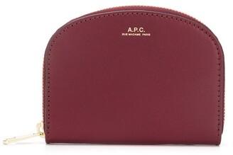 A.P.C. Logo Zipped Wallet