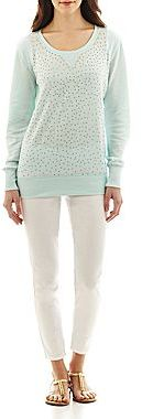 i jeans by Buffalo Crewneck Pullover Sweatshirt or Cropped Jeggings